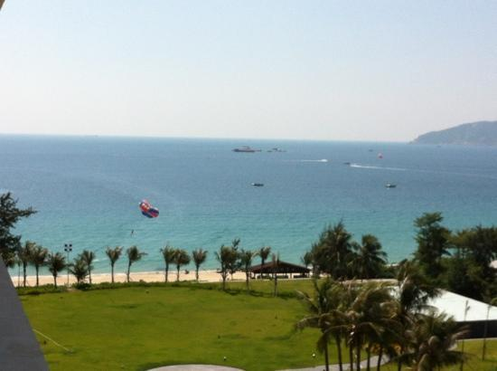 MGM Grand Sanya: view from hotel room