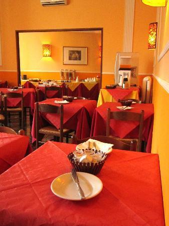 Hotel Benvenuti: Sala colazione
