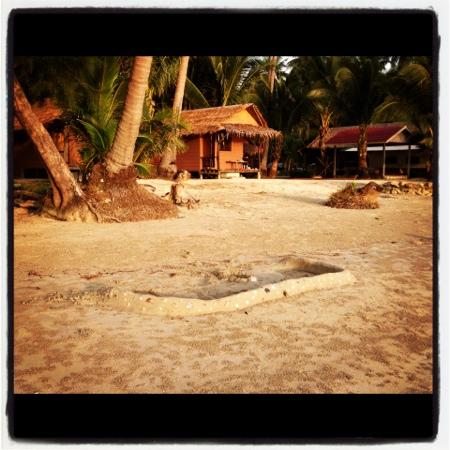 Tiger Hut: Bungalows Beachfront