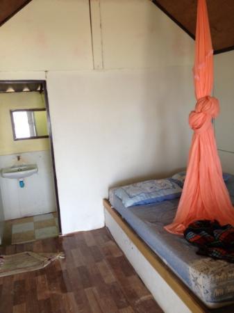 Tiger Hut: Bett mit steinharter Matratze