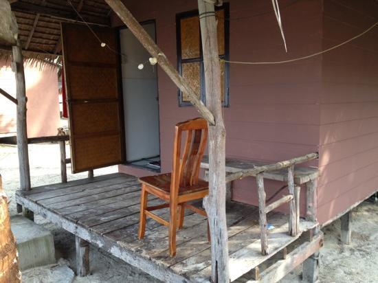 Tiger Hut: Balkon
