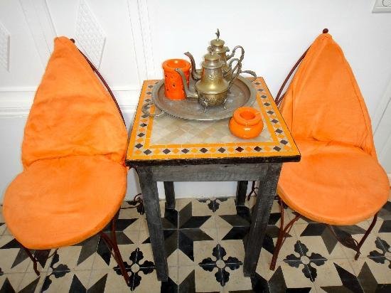 Riad Orange Cannelle: Vestibule