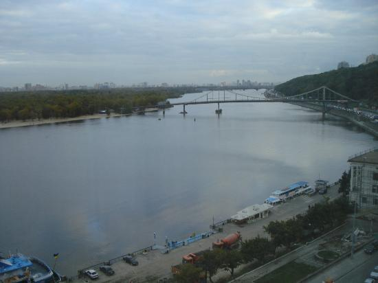 Fairmont Grand Hotel Kyiv: view from room