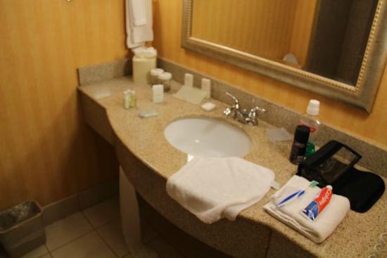 Hilton Garden Inn Atlanta NW / Kennesaw Town Center: Bathroom