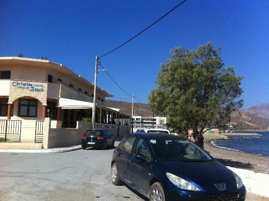 Christina Beach Hotel: accès à l'hôtel