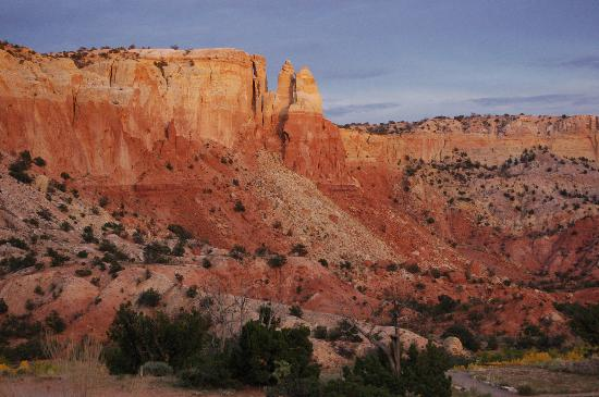 Ghost Ranch Education & Retreat Center : Sunsets are spectacular here.