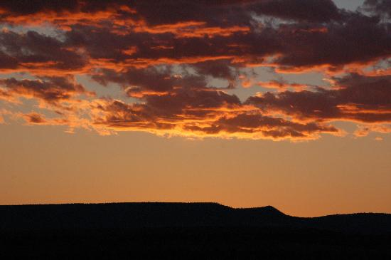 Ghost Ranch Education & Retreat Center: Sunset!