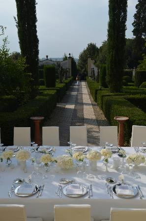 Villa Le Piazzole: Lovely setting for wedding reception