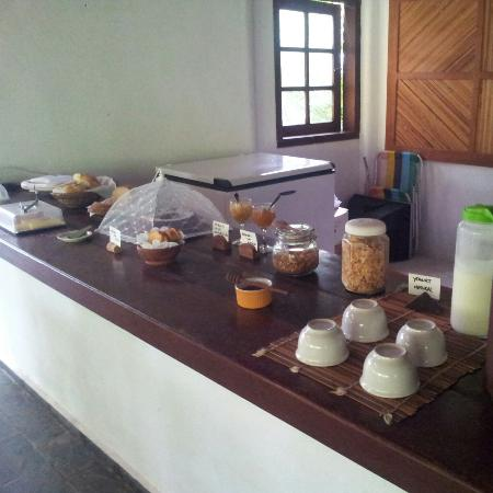 Pousada Jacaranda: Café da manhã