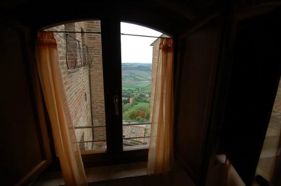 Osteria del Borgo: View from our window