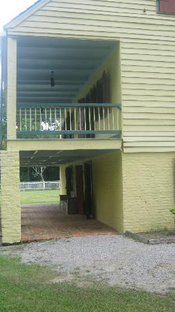 Longfellow Evangeline State Historic Site: Raised Creole Cottage