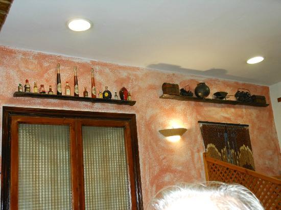 Les Brases Del Meridiano : la décoration intérieure