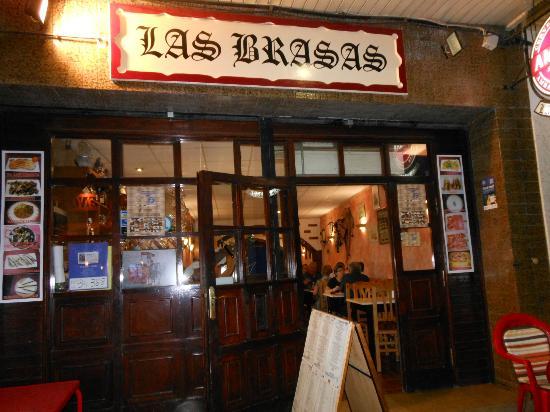 Les Brases Del Meridiano : L'entrée du restaurnat