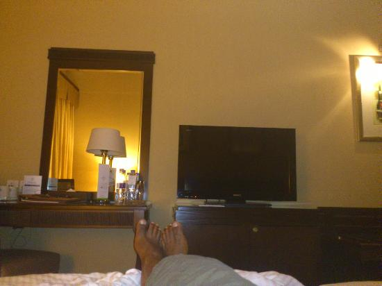 Flora Grand Hotel: view of the room, 32 inch tv