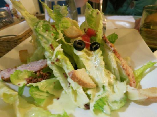 Aminda : Chicken Caesar Salad