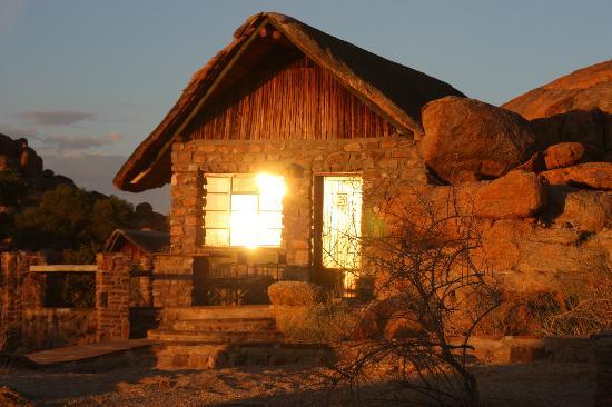 Fish River Canyon, Namibie : Sonnenuntergang