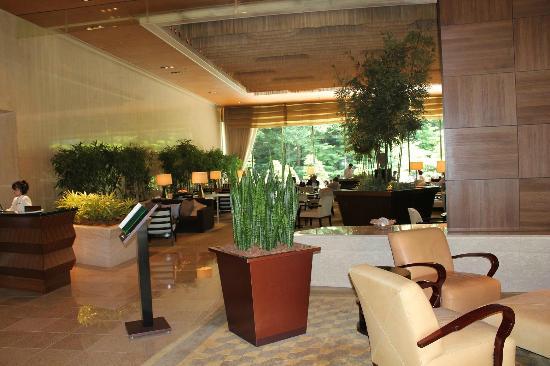 Sheraton Miyako Hotel Tokyo: バンプーラウンジ 一階