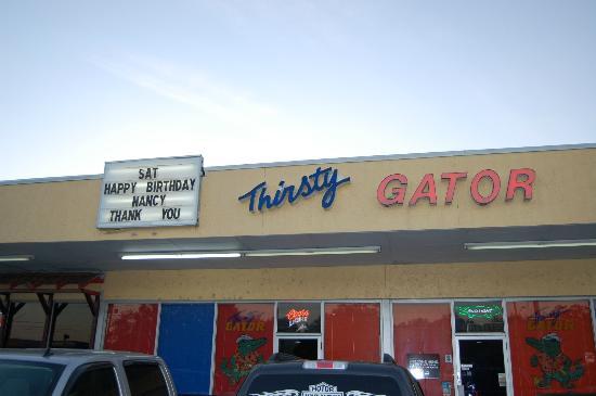 Thirsty Gator