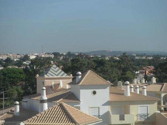 Santa Eulalia Hotel Apartamento & Spa: View from our apartment on the 4th floor