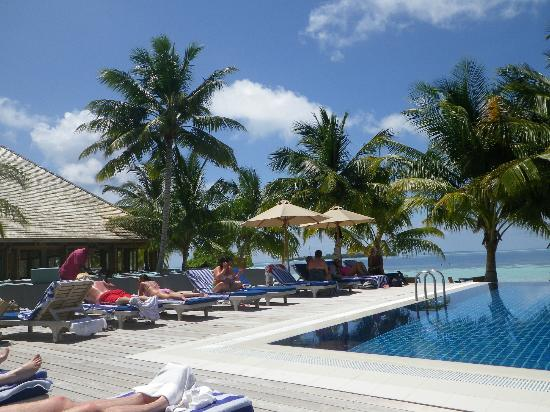 Vilamendhoo Island Resort & Spa: Infinity pool