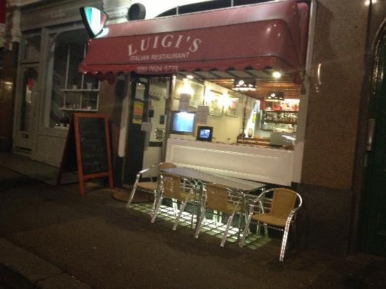 Luigi's Restaurant : Beautiful food