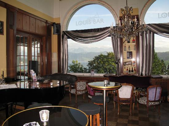 Art deco hotel montana luzern louis bar