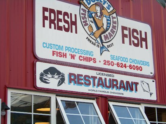 Dolly's Fish Market: Dolly' Fish Market and Restaurant Sign