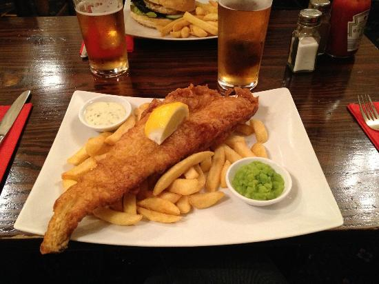 The Essex Serpent : fish & chips