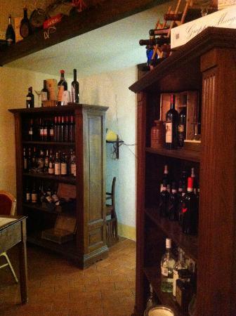 Antica Dimora alla Rocca: particolari del ristorante
