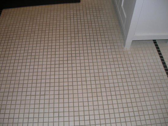 Mary's Lake Lodge Mountain Resort and Condos:                                                                         Dirty Bath floor