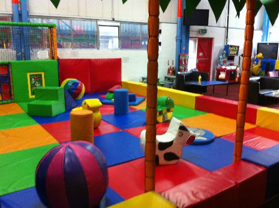 Penryn, UK: Raze the Roof children's indoor soft play & laser tag, Cornwall