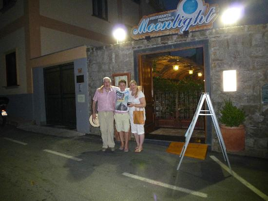 Ristorante Moonlight: The main entrance