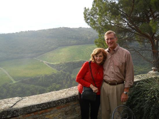 Tuscany in Tour: Allen and Sandy at Castello Vicchiomaggio