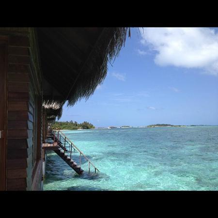 อดาราน ซีเลค ฮัดฮูรันฟูชิ รีสอร์ท: Ocean Villa - Bangalôs