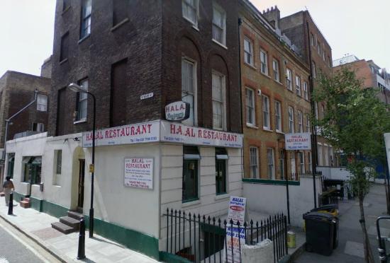 Halal Restaurant Mark Street London E1 8dj Picture Of