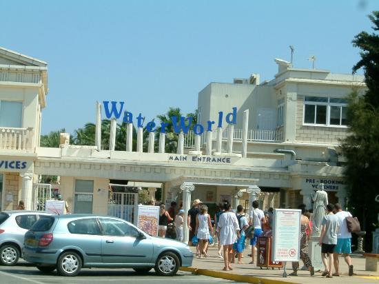 WaterWorld Su Parkı: Entrance to the park