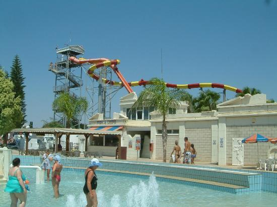 WaterWorld Waterpark: One of the many rides