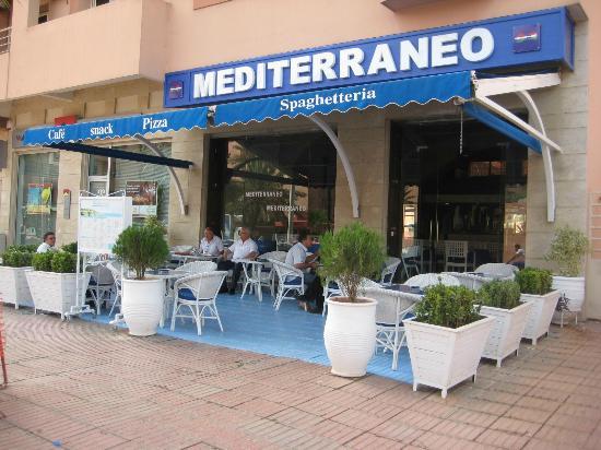 Mediterraneo Snack Pizza Cafe: Terrazza