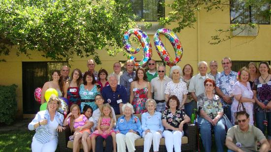 Courtyard Vacaville: Stella's 90th Birthday Party