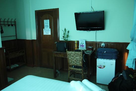 Siem Reap Garden Inn: entrance of the room