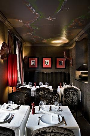 Restaurant Les Enfants Terribles-Megève à l'Hôtel Mont-Blanc
