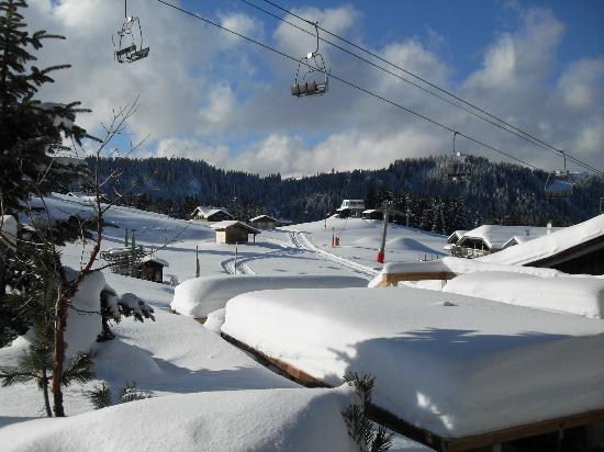 Inferno Morzine : Check out the fresh snow dump