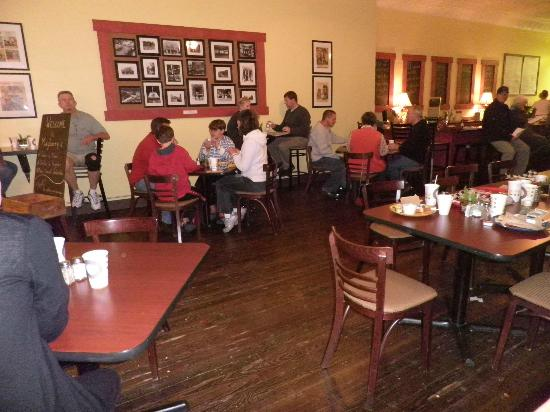 Mayberry's: Inside dining area!