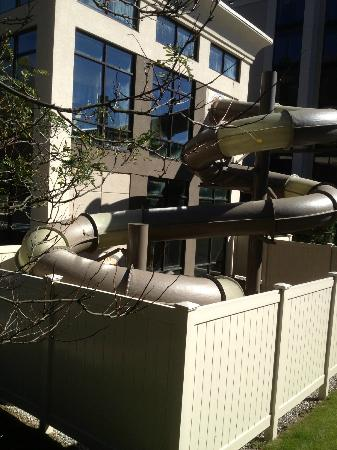 Hampton Inn by Hilton Shelton: Water slide detail