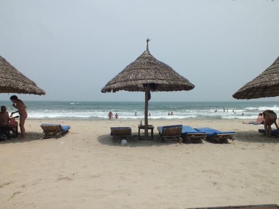 Cua Dai Beach: PERFECT SETTING..!