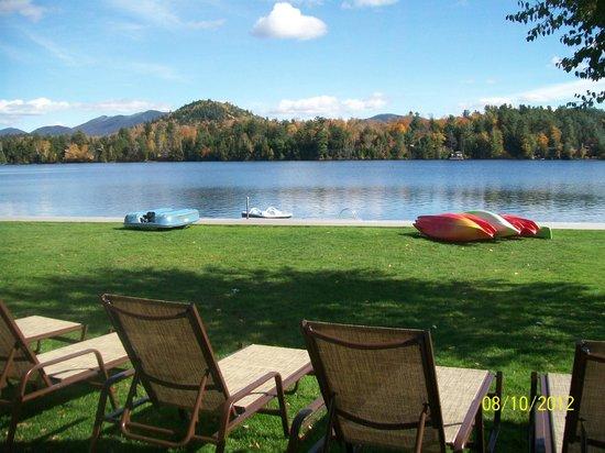 High Peaks Resort: Belle vue de notre chambre