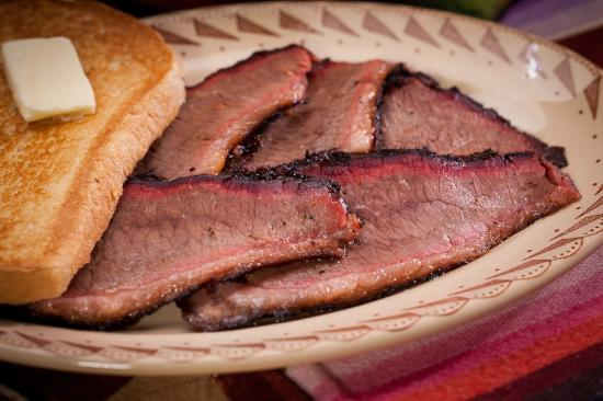 Buster's Texas-Style Barbecue: Buster's Texas-style beef brisket