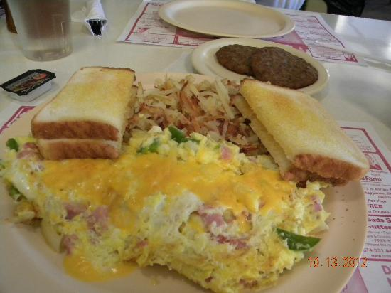Wakarusa, IN: Omelette