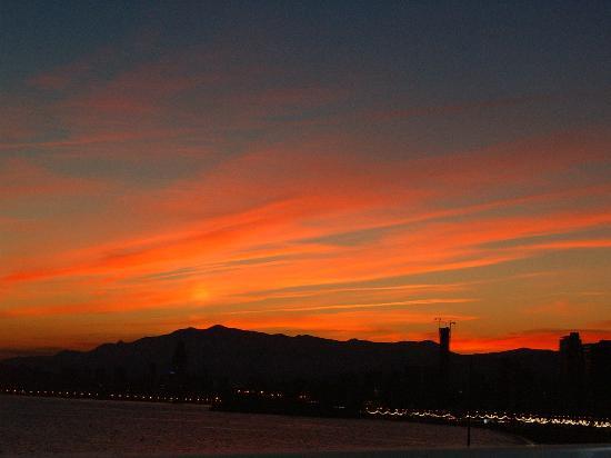 Hotel Brisa: night sky from balcony