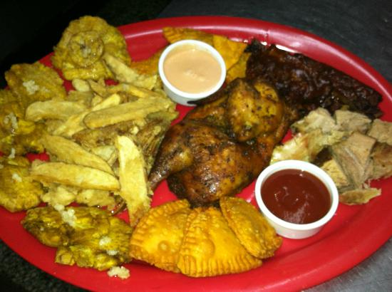 El Fogon De La Curva: Our Craving Board with Chicken, Ribs & Pork